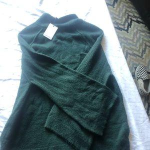 Dark green Calvin Klein sweater.